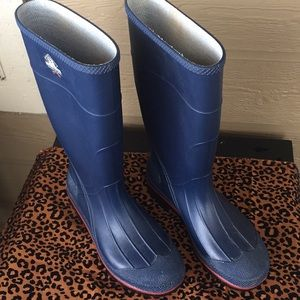 Northerner Waterproof Rubber Rain Boots Size 10